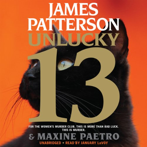 Unlucky 13 audiobook cover art