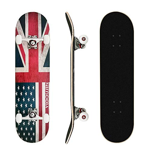 Why Should You Buy MammyGol Skateboards 31''x 8'' Complete Skateboard Cruiser 9 Layer Canadian Maple...