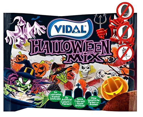 VIDAL- HALLOWEEN MIX- 480 GRAMOS