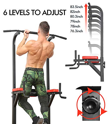 Product Image 2: BangTong&Li Power Tower Workout Pull Up & Dip Station Adjustable Multi-Function Home Gym Fitness Equipment