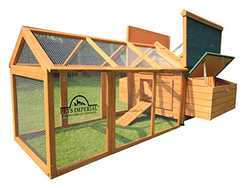 Pets Imperial Double Savoy Large Chicken Coop with 2 Nest...