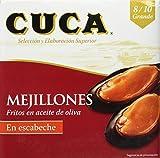 Cuca Mejillón Escabeche - 69 gr - [Pack de 4]
