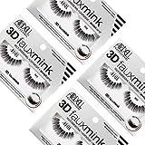 Ardell Professional 3D Faux Mink, künstliche Wimpern für einen voluminösen Look, das Original -...