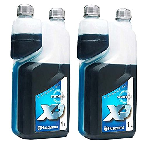 Husqvarna XP 2-Takt-Motorenöl, raucharm, 1 Liter, 2 Stück