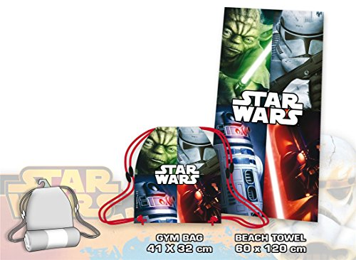 Set toalla saco Star Wars