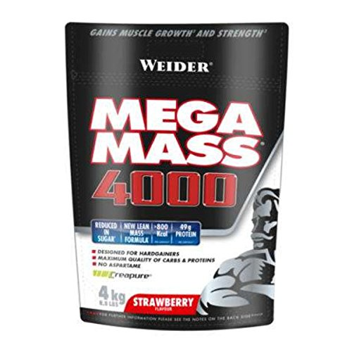 Weider Mega Mass 4000 - 4kg Vainilla