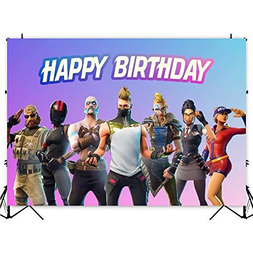 Fond de jeu pour anniversaire, j...
