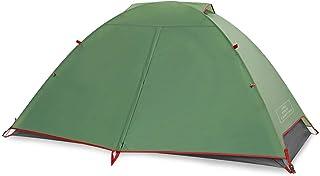 THE FIRST CAMPING テント1~2人用シリコンテント超軽量1.8KG防水UVカット耐水圧5000mm 二重テントプロのキャンプ用品 ビーチ/登山/遠足/ピクニック
