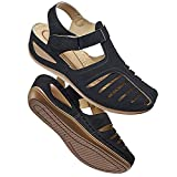 Women's Summer Sandals Casual Bohemia Gladiator Wedge Shoes Comfortable Ankle Strap Outdoor Platform Sandals