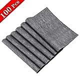 WEKON 100 Blätter Kohlepapier A4 Carbon Papier Transfer Graphitpapier für