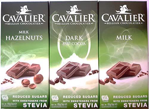 Cioccolato al latte (85gr) - con Stevia e senza aggiunta di zuccheri