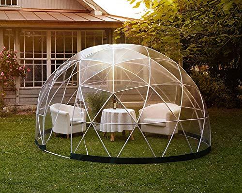 Grande Pod Igloo Dome Giardino/Pub/Ristorante/Glamping Rifugio per tutte le condizioni atmosferiche Diametro 3,8 m