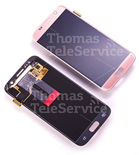 Original Samsung Galaxy S7 SM G930F LCD AMOLED Display Touchscreen Digitizer Rosa Pink Gold Rosegold Service Ersatzteil OCTA GH97-18523E