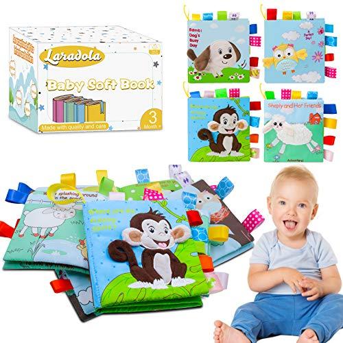 Laradola Soft Baby Books Toys for 1…