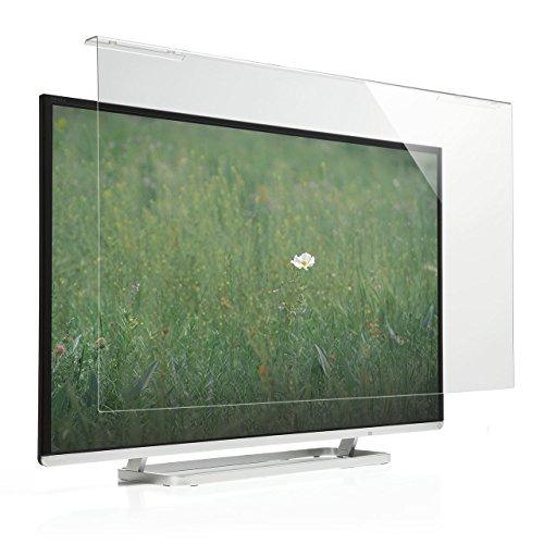 サンワダイレクト 液晶テレビ保護パネル 40インチ 対応 アクリル製 テレビカバー クリア 200-CRT013