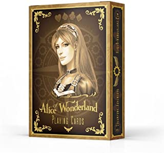 Alice of Wonderland Playing Cards - Gold Edition