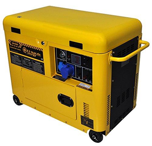 Di Marzio Energy Einsphasiger 6 kw Diesel Stromerzeuger mit E-Start