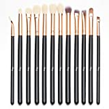 Qivange Eye Makeup Brushes Set, Synthetic Eyeshadow Brushes Eye Makeup Brush Set...