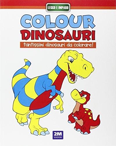 Colour dinosauri rosso. Ediz. illustrata