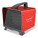 Portable Space Heater, Electric Ceramic Space Heaters with Adjustable Thermostat, Indoor Room Heater for Home Office Desktop, Tip-Over Switch Overheat Protection, 1500W/750W Fast Heating ETL Certified