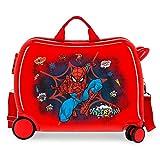 Marvel Spiderman Pop Maleta Infantil Rojo 50x38x20 cms Rígida ABS Cierre...