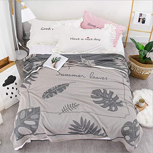 Deken deken zomer dekbed airconditioning deken bed levert slaapkamer woonkamer bank tweekleurig oppervlak zacht en comfortabel afdrukken multifunctioneel modehuis