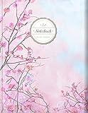 """BULLET JOURNAL (©Star, A4, 156 Seiten, Softcover)    Mit Register    XXL Punktraster Notizbuch, Tagebuch, Gepunktete Seiten, Dot Grid Notebook, """"Frühjahr"""""""