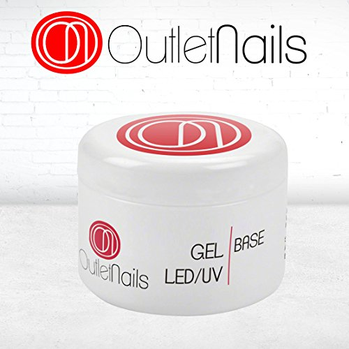 Gel Base UV LED 50ml para Uñas de gel Gel Base Primer Base Gel para uñas 50g