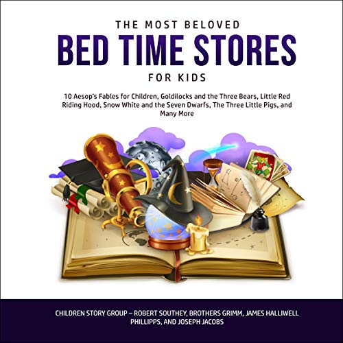The Most Beloved Bed Time Stories for Kids cover art