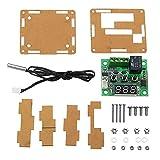 Módulo electrónico Controlador termómetro del interruptor de control de temperatura del termostato XH-W1209 DC 12V con pantalla LED digital con caja 3pcs Equipo electrónico de alta precisión