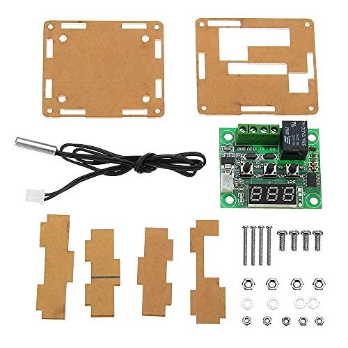 YWF Kit de electrónica Controlador termómetro del Interruptor de Control de Temperatura del termostato XH-W1209 DC 12V con Pantalla LED Digital con Caja 3pcs para máquina
