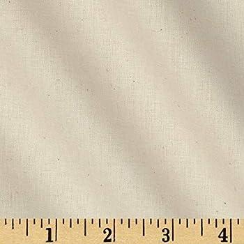 Robert Kaufman Kaufman American Made Muslin Natural Fabric By The Yard,