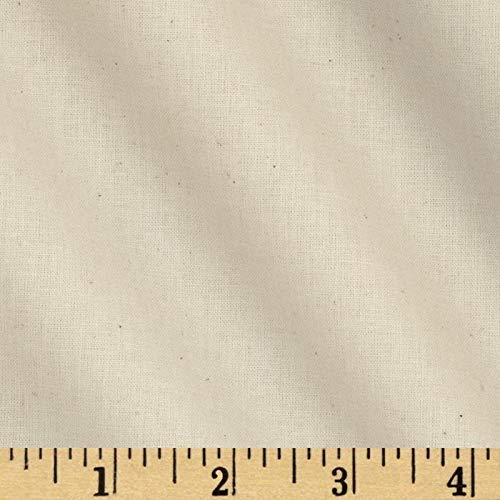 Robert Kaufman Kaufman American Made Muslin Natural Fabric By The Yard,