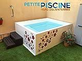 Petite piscine hors sol - Minipiscine hors sol - 1.50x2.00m (Profondeur 0.95m)