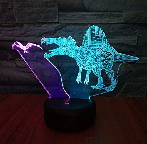 Neue Flying Dragon Und Ridge Dragon Ed3D Nachtlicht Vision Kreative Bunte Fernbedienung Touch Stereo Licht Geschenk Licht
