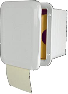 NuovaRade Nuova Rade, Flush-Mount Toilet Paper Holder, Waterproof, Ideal for Boats, Rvs & Wet Bathrooms, 6.3