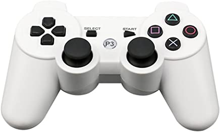 Wireless Bluetooth Gamepad Game Controller for Sony PS3(White)