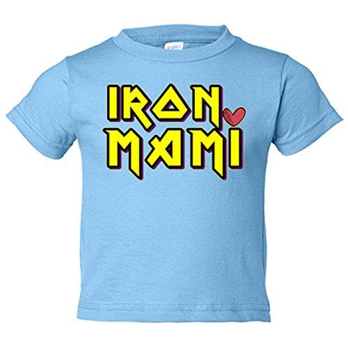 Camiseta niño Iron Mami - Celeste, 3-4 años