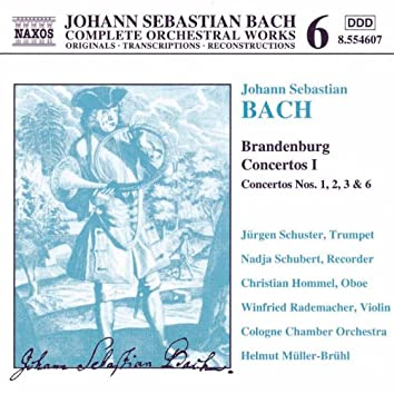 BACH, J.S.: Brandenburg Concertos, Vol.  1