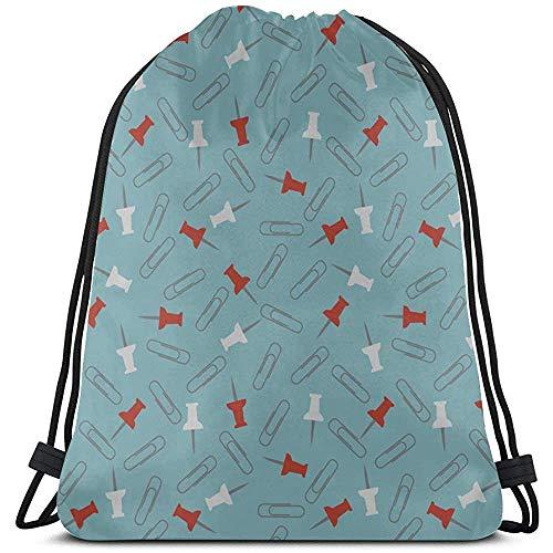 BOUIA Cartoon punaises klein object jongens string rugzak polyester string rugzak koordsluiting party tassen voor gym reizen