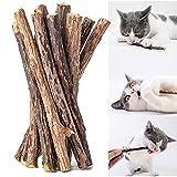 OneBarleycorn - Palitos de Catnip para Gatos,Catnip Juguete para Gatos Matatabi Cat Treats Palitos Gatos Palos Morder Gatos Natural Dental, Paquete de 30 Unidades