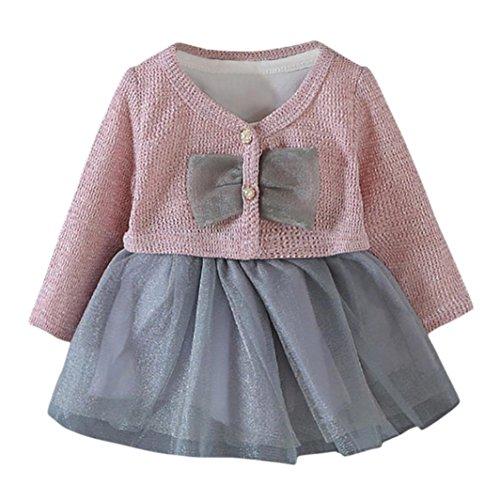 K-youth Ropa Bebe Camiseta Tops bebé niñas + Tutú