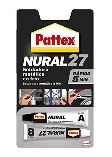 Pattex Nural 27, soldadura metálica en frío,...