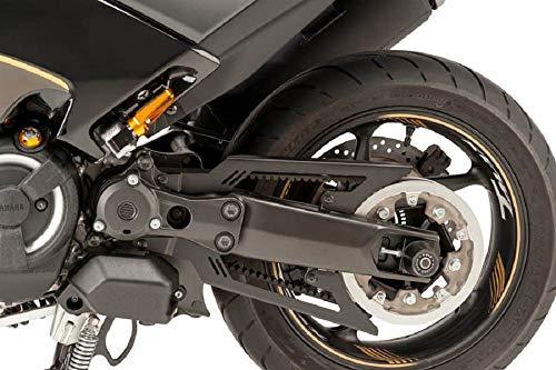 Puig 9455N Protezione della Cinghia per Yamaha T-Max 530 Dx Sx 17 , Nero