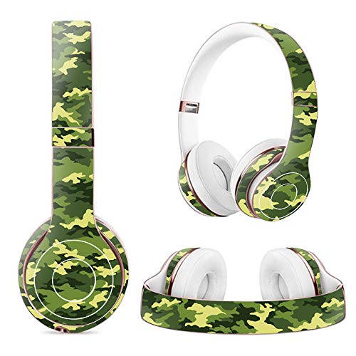 MasiBloom® Creative Headset Schutzaufkleber für Kopfhörer Beats Solo 2 Wireless & Solo 3 Wireless On-Ear-Kopfhörer