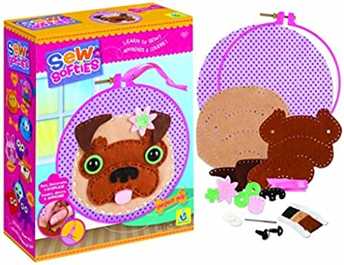 Hay más marcas de productos de alta calidad. The Orb Factory Sew Sew Sew Softies Perfect Pug Sewing Kit by The Orb Factory  descuento