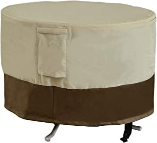 Sundale Outdoor Round Dining Table Cover, Heavy Duty Waterproof Outdoor Patio Furniture Cover, 36