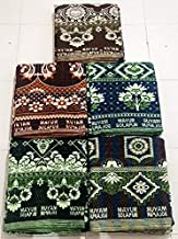 HomeStore-YEP Mayur Solapuri Chadar/Single Size Cotton Blanket/Mayuri Bedsheet/Mayuri Sholapuri Bedsheet Size 60*90 Inches, Pack of 1 Pc