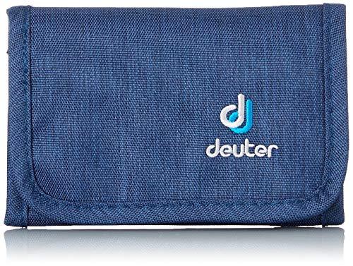 Deuter Travel Wallet Portefeuille de Voyage Mixte Adulte, Bleu (Midnight Dresscode), 14 Centimeters