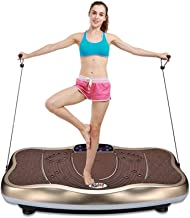 Weight Loss Slimming Machine Vibration Slimming Equipment Shaping Thin Waist Stovepipe Exercise Machine Can Be Used For Two Bearing 200KG Lazy Slimming DSB Color Brown Size 74 45 15CM Estimated Price : £ 340,35